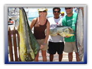 Mahi Mahi Cancun Fishing Trips